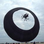 Nur die Bol der Superlative mit einem Durchmesser von 20 m erhob sich vorsichtig