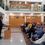 """Museumsgründer Franz Perzi hält die Eröffnungsrede """"30 Jahre Museum Kautzen"""""""