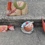 Holzobjekte von Hana Richterova