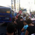 Bustransport zur Cidade do Rock