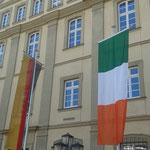 St. Patrick's Day - auch das Rathaus ist irisch, 17.03.2016
