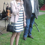 Jubiläumsfest, 02.07.2016: Aoife McGarry, Matthias Fleckenstein (Foto: Wolfgang Hugo)
