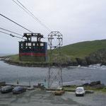 Die einzige Seilbahn in Irland - Dursey Island, West Cork