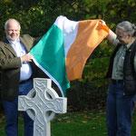Einweihung des keltischen Kreuzes, 18.10.2014 (Matthias Fleckenstein, Gabi Wagner)