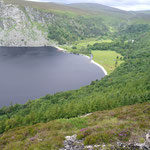 Lough Tay, Luggala Lodge, Wicklow Mountains