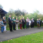Einweihung des keltischen Kreuzes, 18.10.2014