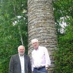 Besuch von Botschafter Michael Collins im Wicklow Garden, 24.05.2015