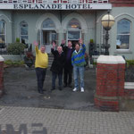 Irlandreise, Hotel Esplanade, Bray, 03.11.2013 (George Jones, John Byrne, David Grant, Thomas Murphy)