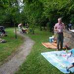 Picknick im Wicklow Garden, 20.07.2014