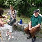 Picknick im Wicklow Garden, 17.07.2016