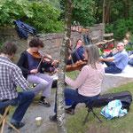 Picknick im Wicklow Garden, 02.07.2017