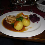 Irish Christmas Dinner, Bürgerspital, 27.11.2015