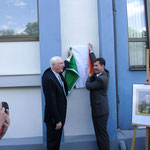 Gedenktafel für John Millington Synge, 24.05.2014 (Botschafter Michael Collins, Oberbürgermeister Christian Schuchardt)