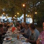 Open-Air-Stammtisch, Restaurant Akropolis zur Keesburg, 16.08.2017