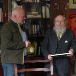 Irlandreise, Luggala, 31.10.2013 (Matthias Fleckenstein, Garech Browne)