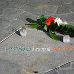 Denkmal der Versöhnung, 08.07.2013 (Irische Mosaiktafel)