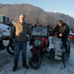 Phils Sidecar, BMW R80GS mit Herbert`s Spezial-Umbau
