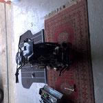 Cockpit und Hinterradschutzblech montiert
