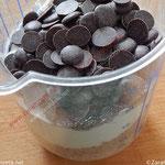Leckere, selbstgemachte Haferflockenkekse mit Schokolade. Foto ©Zarahzeta