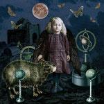 Angel of Science, 2014, als Postkarte verfügbar