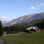 Waldesruh mit Aussicht zu Fellhorn und Kanzelwand