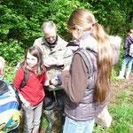 Mithilfe bei den Naturerlebnistagen Mai 2010