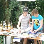 Ausstellung zum Thema Streuobstwiese Juni 2010