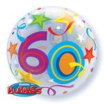 poczta balonowa - kolorowa 60-tka