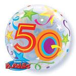 poczta balonowa - kolorowa 50-tka