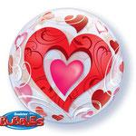poczta balonowa - serca