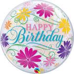 poczta balonowa - Happy Birthday Kwiaty