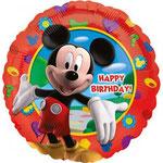 balon okrągły myszka miki