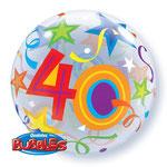 poczta balonowa - kolorowa 40-stka