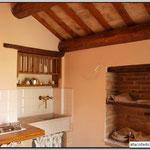 Il lavandino e l'antico angolo delle brocche