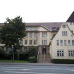 Das Schulgebäude an der Goethestraße: Von 1970 bis 1979 Heimat der Aufbaurealschule