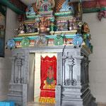 Über 200 Götterabbildungen gibt es im Hammer Tempel.