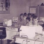 Der Informatikraum der damals modernsten Schule in Arnsberg
