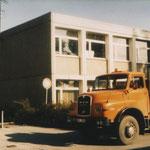 Umzugswagen am Hasenacker