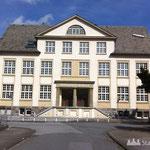 Ruhrschule (zuletzt Standort der Pestalozzischule) - Das Gebäude musste sich die Realschule mit der vierklassigen Grundschule teilen.