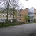 Das Schulgebäude am Berliner Platz: Bis 1970 Ort der Aufbaurealschule