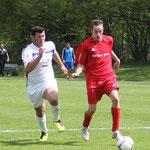 Gegen den FC Rottach-Egern II (2:1), Saison 2013/14