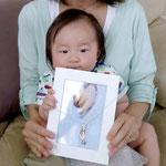 ペンダントヘッド:お母さんから、息子の翔太君へ