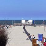Norderney FKK-Strand mit Strandsauna