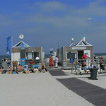 Pause an der Weißen Düne / Norderney - wohl dem, der einen Platz an der Sonne hat