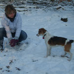 Schneeball spielen :D dazu ist der Winter doch klasse