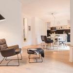 ARVA Lounge ohne Kopfteil, Kufengestell