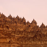 Borobudur - Buddistischer Tempel