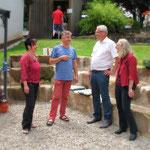 Angela + Thomas Kühnlein, Reiner Braun, Renate Haberacker
