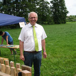Kreisverbandsvorsitzender Reiner Braun, Gärten an der Christenmühle