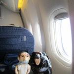 久しぶりの東京。ジェット機も久しぶり♡